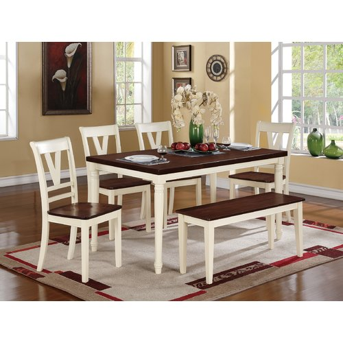 August Grove Capra 6 Piece Dining Set