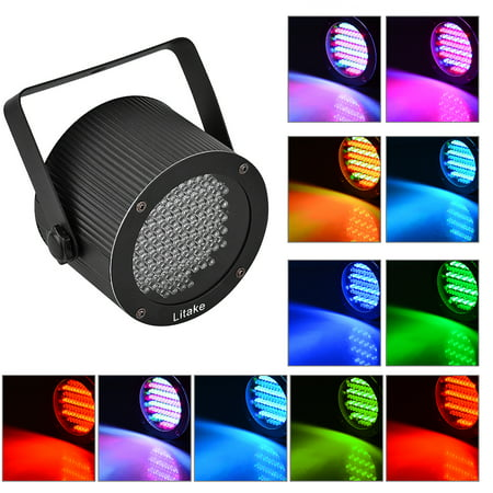 86 RGB LEDs Color Mixing Stage Light UFO Lamp Laser Projector Party Club Dj Colour Led Laser
