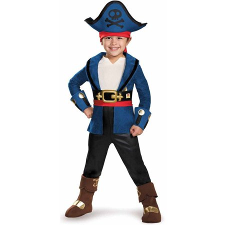 Captain Jake and the Neverland Pirates Captain Jake Deluxe Toddler Halloween - Princess Pirate Costume Toddler