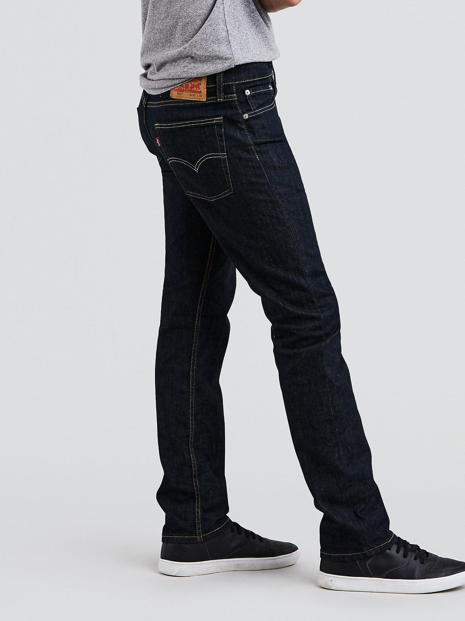 0b8a313e2a0 Levi's - Levi's Men's 513 Slim Straight Jeans - Walmart.com