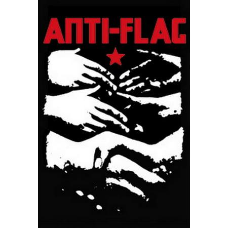 Anti-Flag Hands Magnet M-1713 (Anti Obama Magnet)