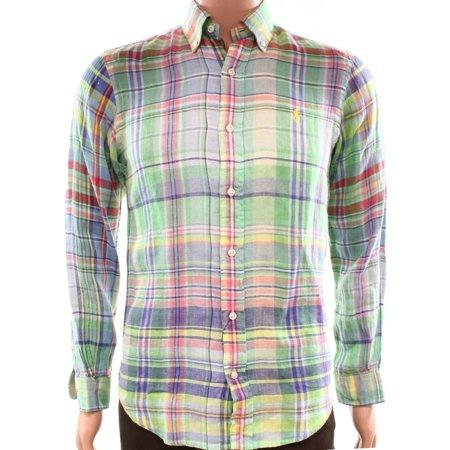 Ralph Lauren Mens Standard Sport Button Up Shirt