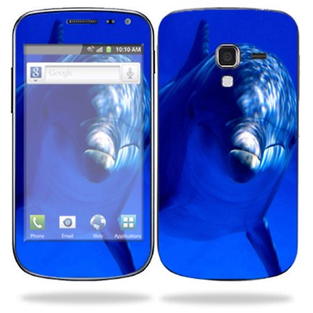 Mightyskins Protective Skin Decal Cover for Samsung Galaxy Exhilarate Cell Phone AT&T wrap sticker skins Dolphin