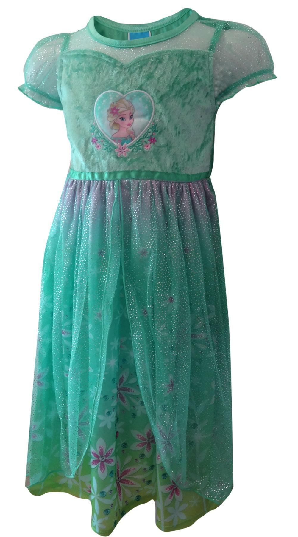 Disney Frozen Princess Elsa Frozen Fever Toddler Nightgown - Walmart.com
