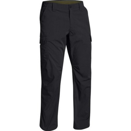 under armour 1265491 men's black tactical patrol cargo pants - size 40 x 32 (Tactical Under Armour)