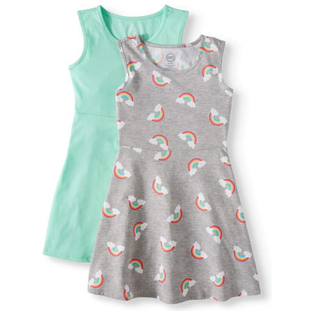 Sleeveless Play Dress, 2-Pack (Little Girls, Big Girls & Big Girls Plus) (Buy 1920's Dresses Online)