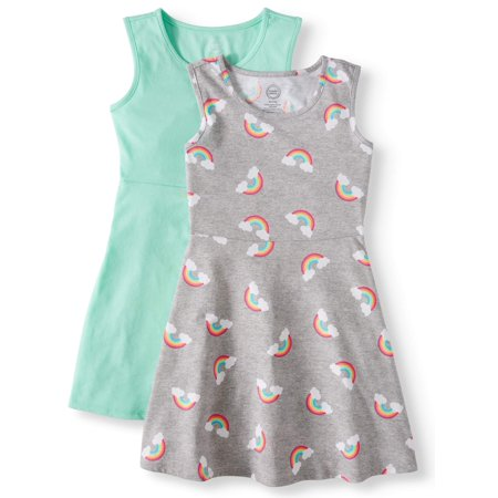 Sleeveless Play Dress, 2-Pack (Little Girls, Big Girls & Big Girls Plus) - Girls Ariel Dress