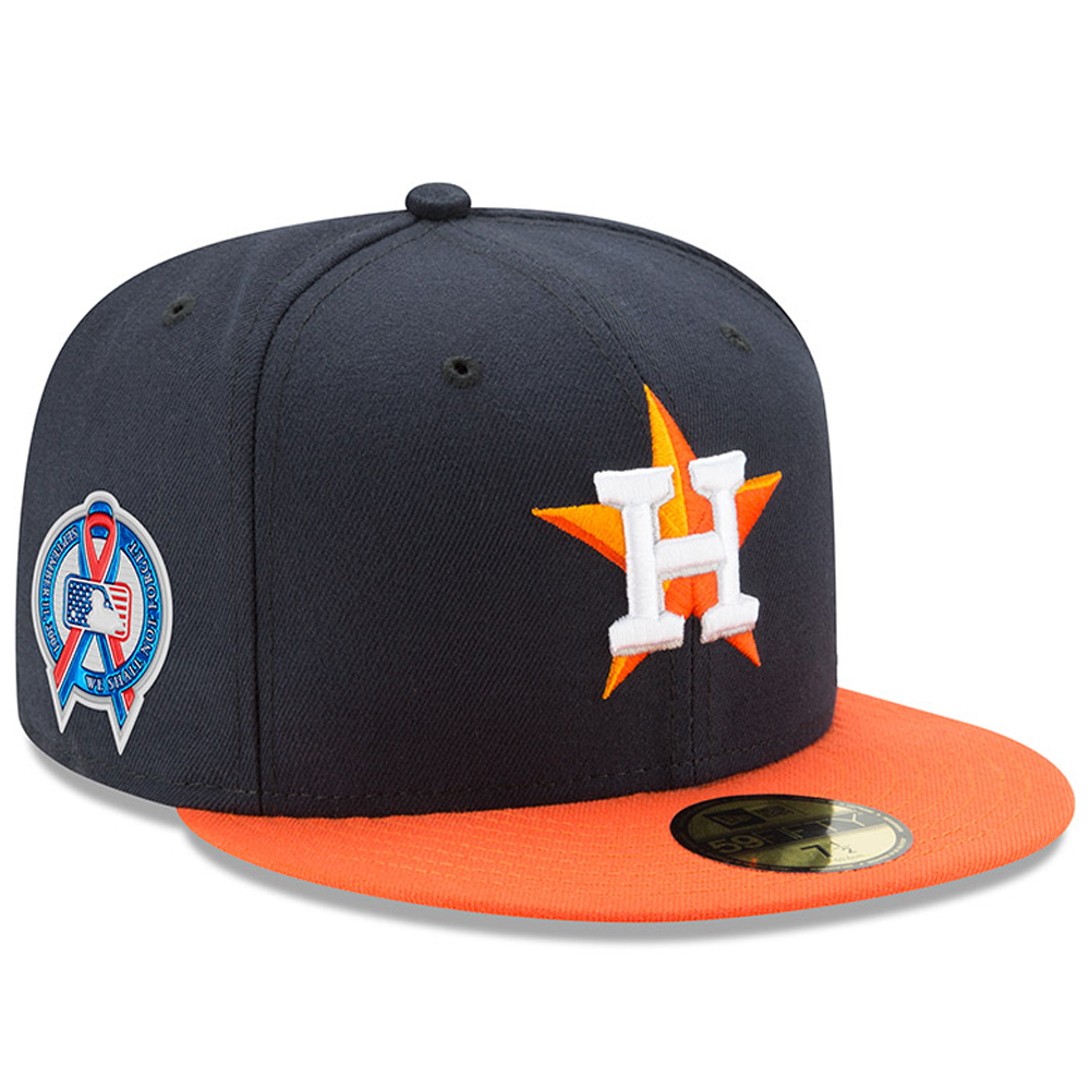 Houston Astros New Era 2018 9/11 Authentic Collection 59FIFTY Fitted Hat - Navy