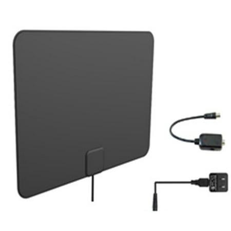 Onn HDTV Digital Amplified Indoor Antenna, 50 Mile Range