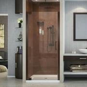 DreamLine Elegance 28 3/4 - 30 3/4 in. W x 72 in. H Frameless Pivot Shower Door in Oil Rubbed Bronze
