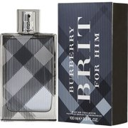 BURBERRY Brit Eau De Toilette Spray for Him, 3.4 oz