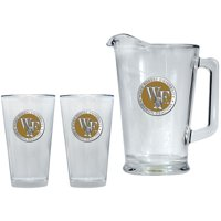 Wake Forest University Pitcher and 2 Pint Glass Set Beer Set