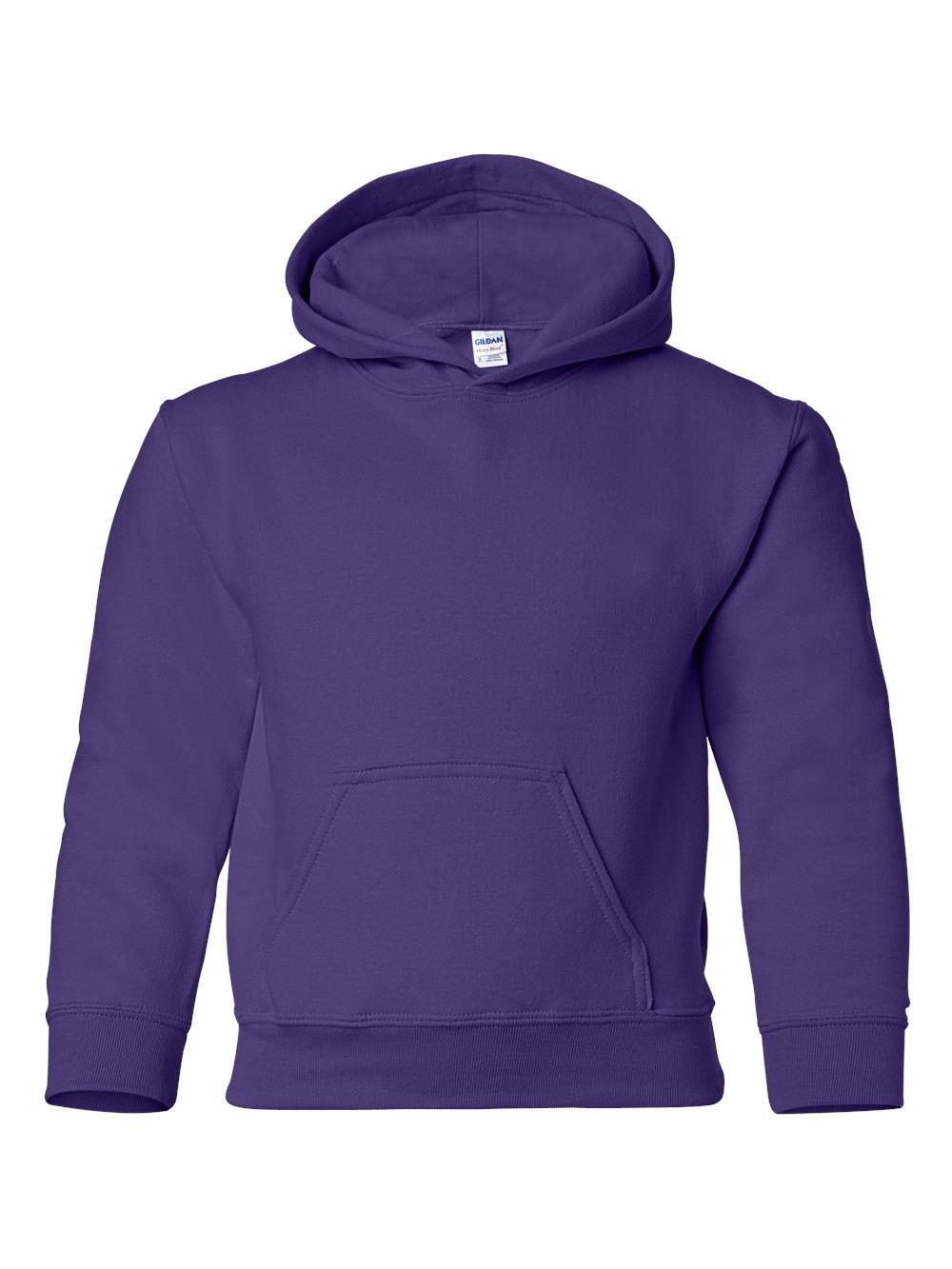 18500B Gildan Fleece Heavy Blend Youth Hooded Sweatshirt