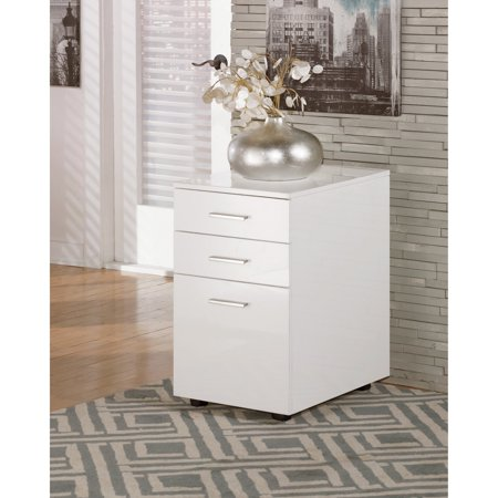 Floral Design Cabinet - Signature Design by Ashley Baraga File Cabinet