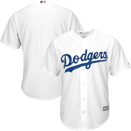 - Los Angeles Dodgers Majestic Youth Official Cool Base Jersey - White