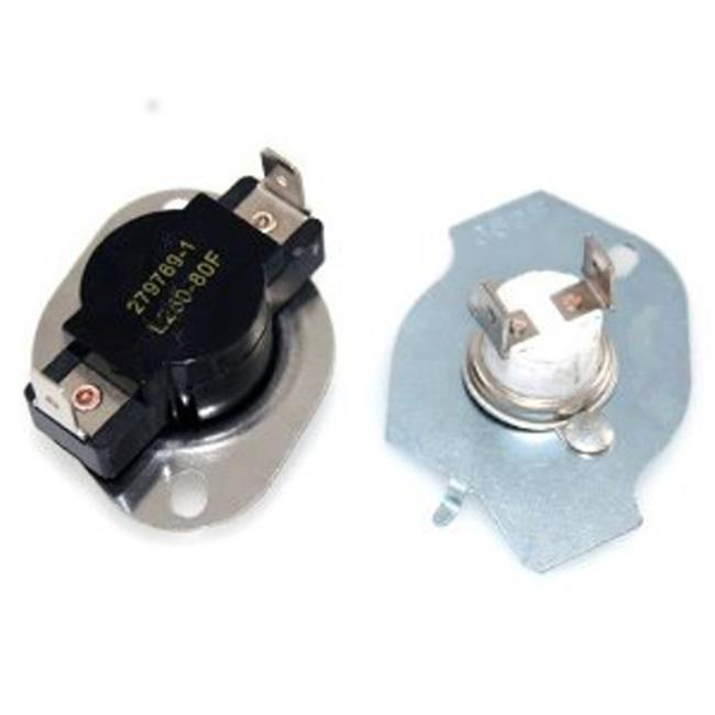 ERP 279769 Whirlpool Dryer High Limit Thermostat & Fuse Kit