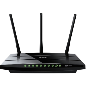 TP-LINK Archer C7 AC1750 Dual Band Wireless AC Gigabit Router, 2.4GHz 450Mbps+5Ghz 1350Mbps, 2 USB Ports, IPv6, Guest Network - 2.40 GHz ISM Band - 5 GHz UNII Band - 1750 Mbps Wireless Speed - 4