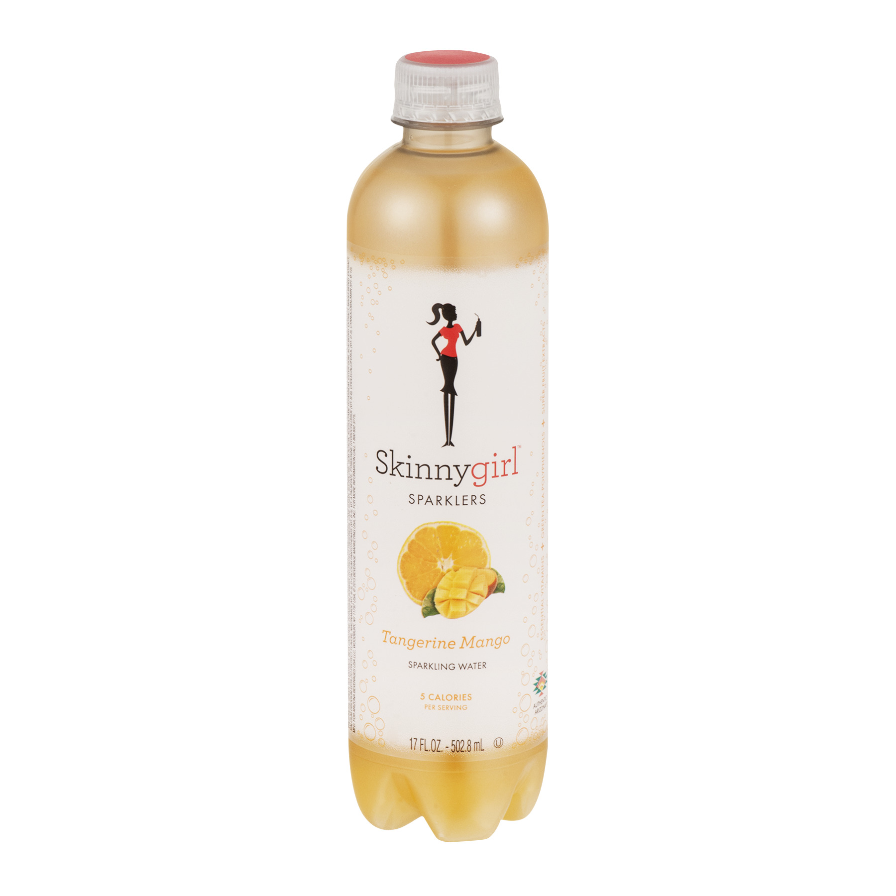 Skinnygirl Sparklers Sparkling Water Tangerine Mango, 17.0 FL OZ
