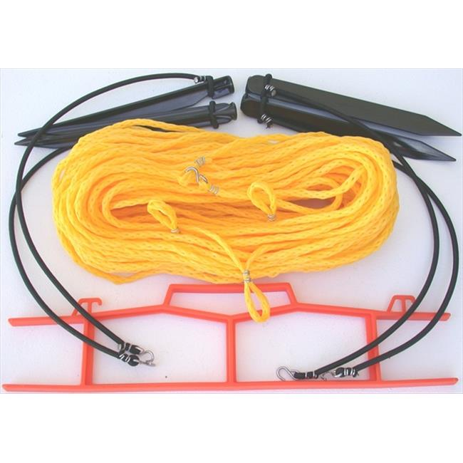Home Court 25YS Yellow . 25-inch rope Non-adjustable Courtlines