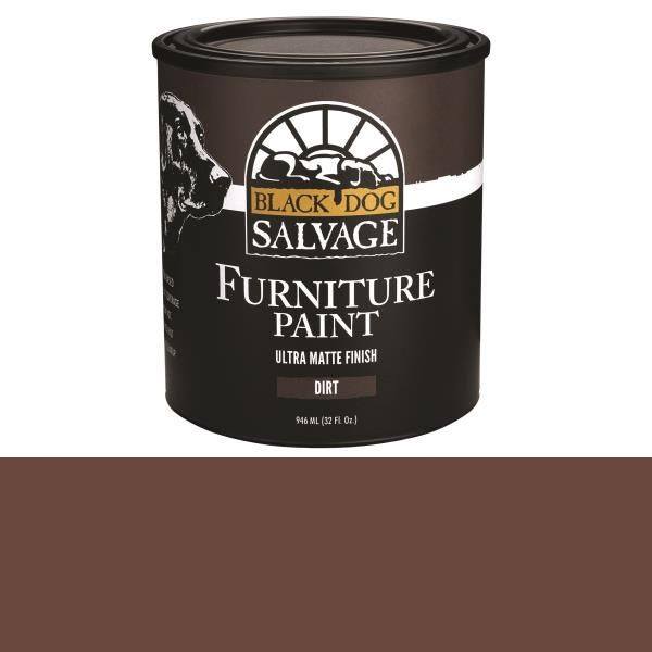 Black Dog Salvage Dirt (Brown) Furniture Paint, 946ml