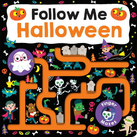 Follow Me Halloween (Board Book) - Come With Me On Halloween
