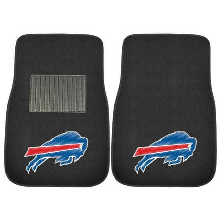 FanMats NFL Buffalo Bills 2-Piece Embroidered Car Mats Jacksonville Jaguars Nfl Car Mats