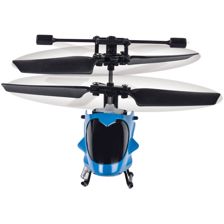 World's Smallest RC Helicopter, Blue