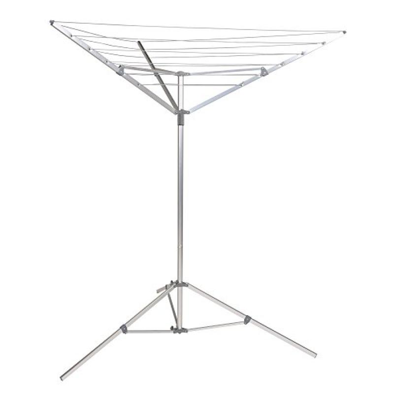 Household Essentials P1900 Portable Umbrella Clothesline Dryer - Hang Wet or Dry Laundry