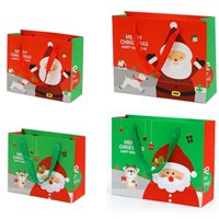 Christmas Festive Gift Xmas Party Wrapping Novelty Paper Candy Bags And Boxes