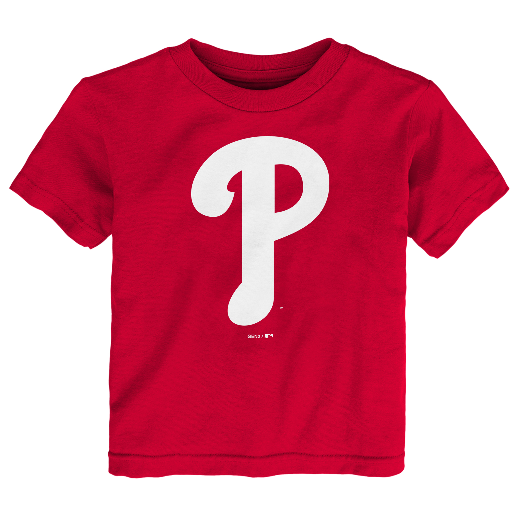 Philadelphia Phillies Toddler Primary Logo T-Shirt - Red
