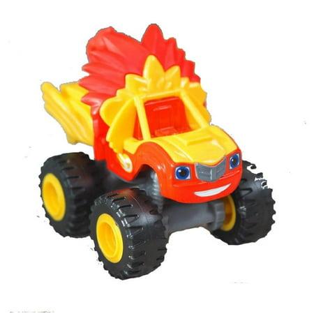 Fisher-Price Nickelodeon Blaze and The Monster Machines Animal Island Stunts Speedway - Replacement Blaze Truck -