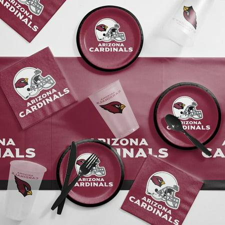 Arizona Cardinals Tailgating Kit (Arizona Cardinals Party Supplies)