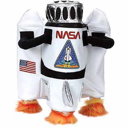 NASA Astronaut Backpack Child Halloween Costume Accessory
