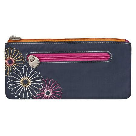 Safe ID Double Zip Clutch Wallet, (Double Zip Clutch)