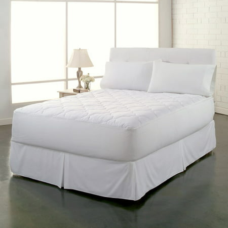 ultrasoft clean and fresh waterproof mattress pad white. Black Bedroom Furniture Sets. Home Design Ideas
