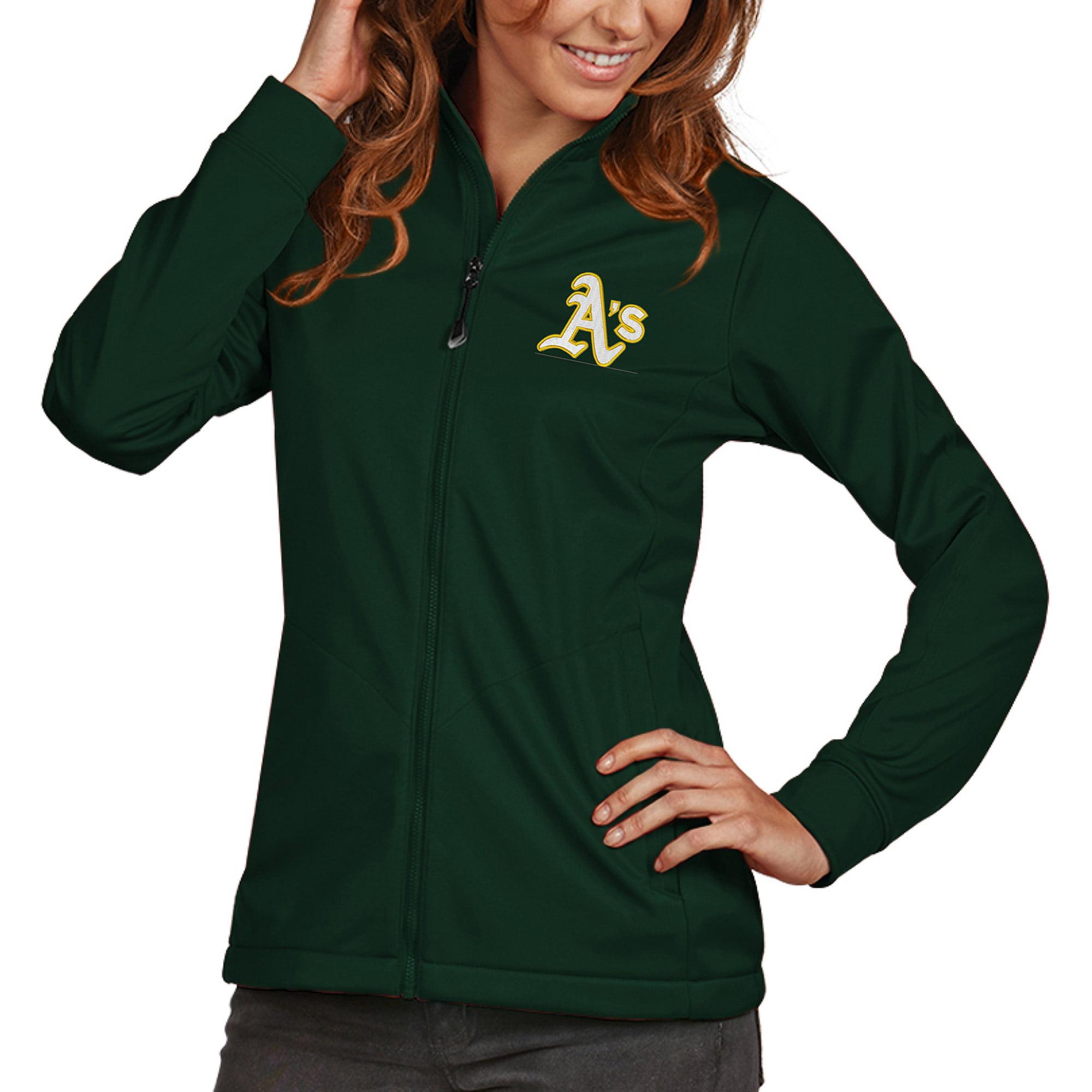 Oakland Athletics Antigua Women's Golf Full-Zip Jacket - Green