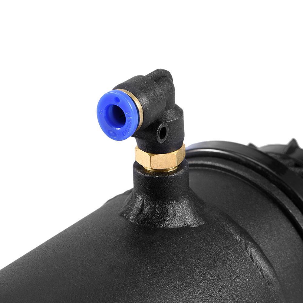 WALFRONT Black Universal Car Oil Reservoir Catch Can Tank Kit Breather Filter Baffled Aluminum,Oil Catch Tank,Oil Catch Can - image 6 of 8