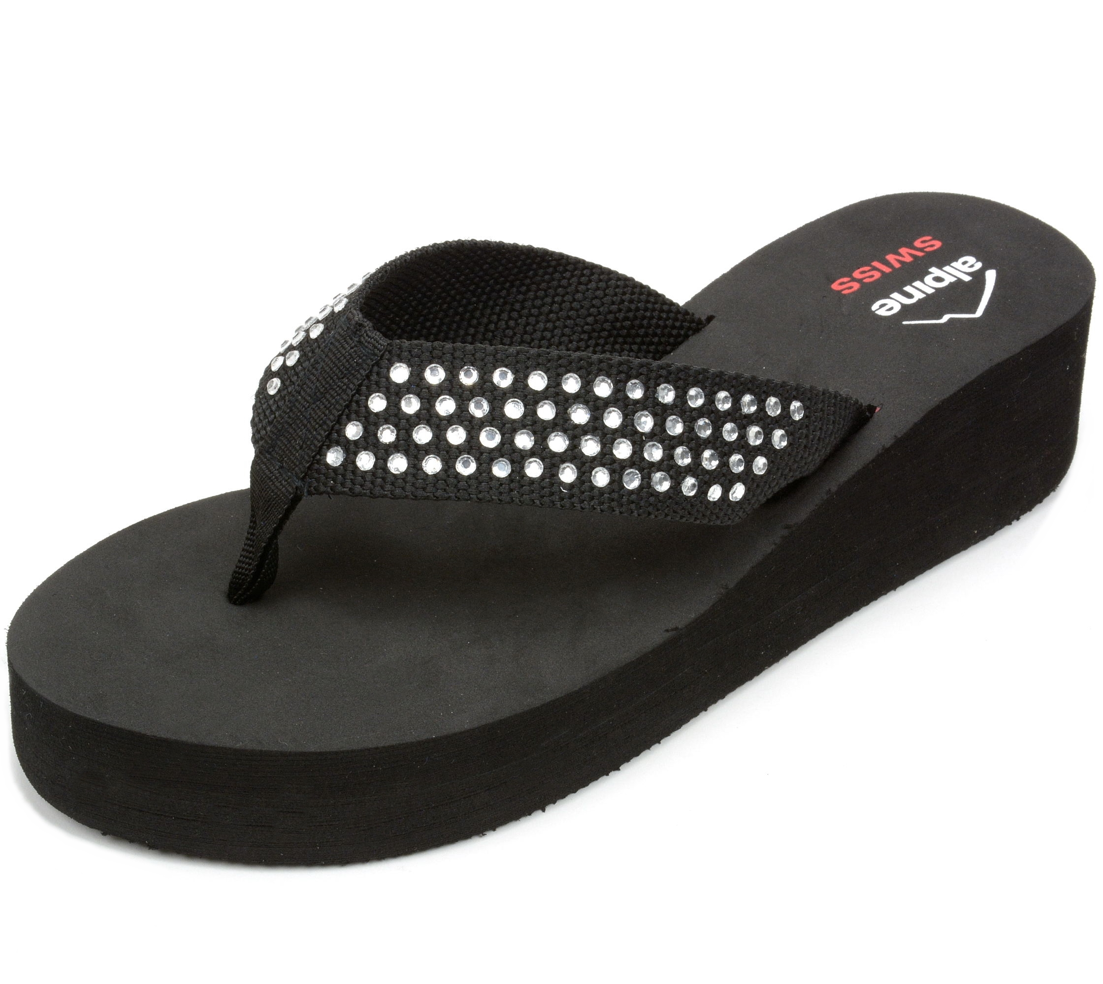 Alpine Swiss - Alpine Swiss Womens Flip Flops Thong -8383