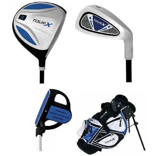Merchants of Golf Tour X Size 0 Ages Under 5 3pc Jr Set with Stand Bag