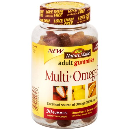 Nature Made multi Omega 3 gélifiés, 90 CT (pack de 3)