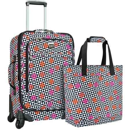 U S  Traveler Langford 2 Piece Womens Luggage Set  Multiple Colors