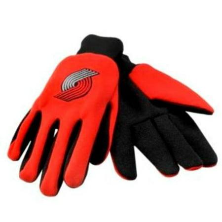 Nba Portland Trailblazers Sports Utility Gloves One Size Fits Most