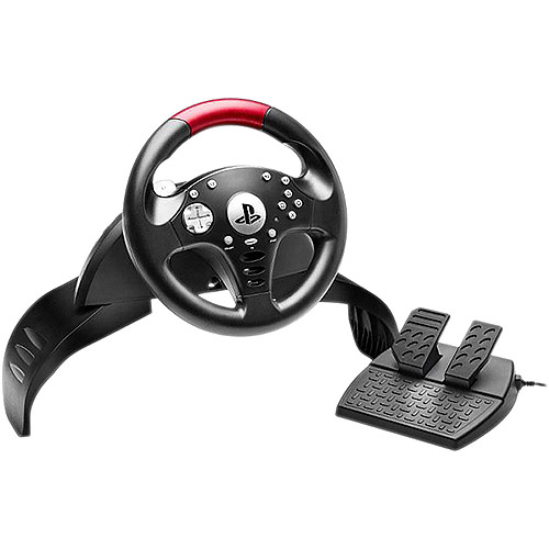 Thrustmaster VG T60 Official Sony Licensed Racing Wheel - PlayStation 3
