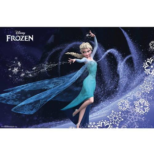 """Frozen Elsa (TM) Poster 22""""X34""""-"""