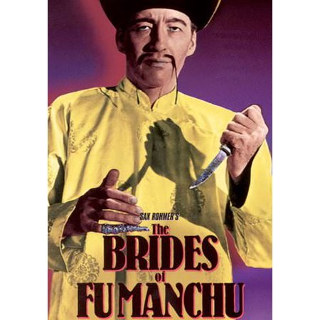 The Brides of Fu Manchu (Vudu Digital Video on Demand) - Fake Fu Manchu Mustache