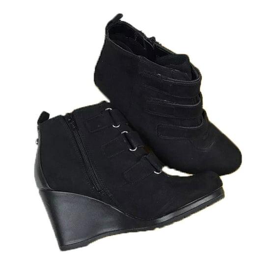 e954b98c06fa Dana Buchman Luxury - Dana Buchman Women Preston Wedge Ankle Boots ...