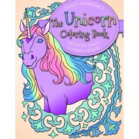The Unicorn Coloring Book (Paperback)