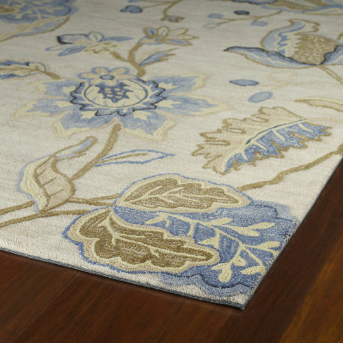 Kaleen Inspire 64 Spectacle White Area Rug
