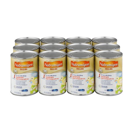 Nutramigen DHA & ARA Hypoallergenic Infant Formula with Iron - 12 CT12.0 CT