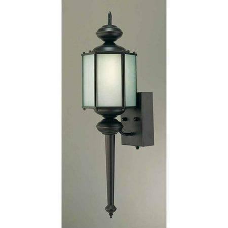 Exterior Wall Light Height : Volume Lighting V6465 Energy Saving Outdoor 1 Light 25.5